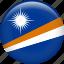 flag, marshall islands, nation icon