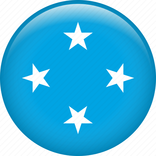 country, flag, micronesia, nation icon