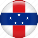 country, flag, nation, netherlands antilles icon