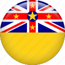 niue, country, flag, nation