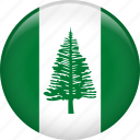 country, flag, norfolk island, nation