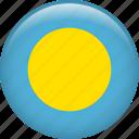 palau, country, flag, nation