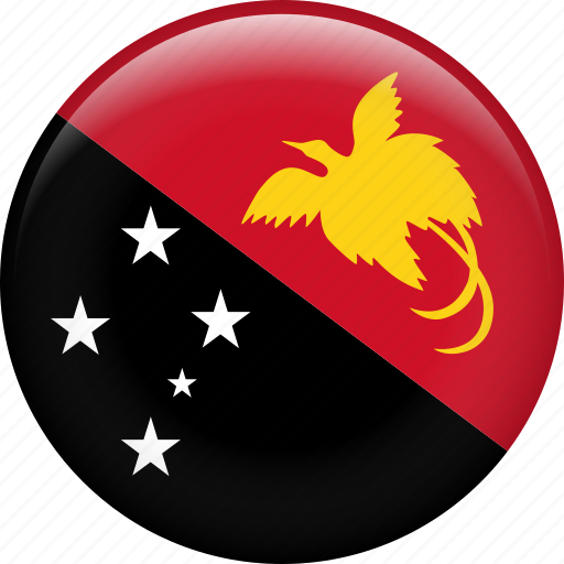 country, flag, nation, papua new guinea icon
