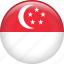 country, flag, nation, singapore icon