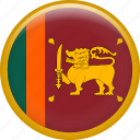 country, flag, nation, srilanka icon