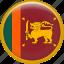 country, flag, nation, srilanka icon