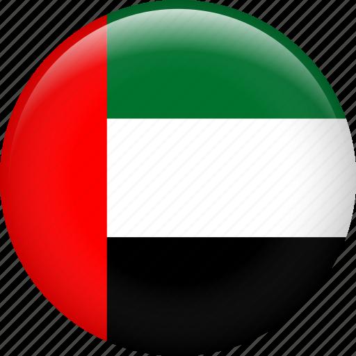 Arab Country Dubai Emirates Flag Uae United Arab Emirates Icon