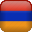almenia, armenia, country, flag icon