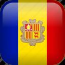 andorra, country, flag icon