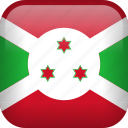 burundi, country, flag icon
