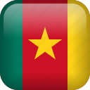 cameroon, country, flag icon