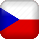 country, czech, czech republic, flag icon