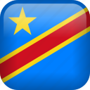 congo, country, democratic republic of the congo, dr congo, flag icon