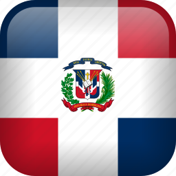 country, dominican republic, flag icon