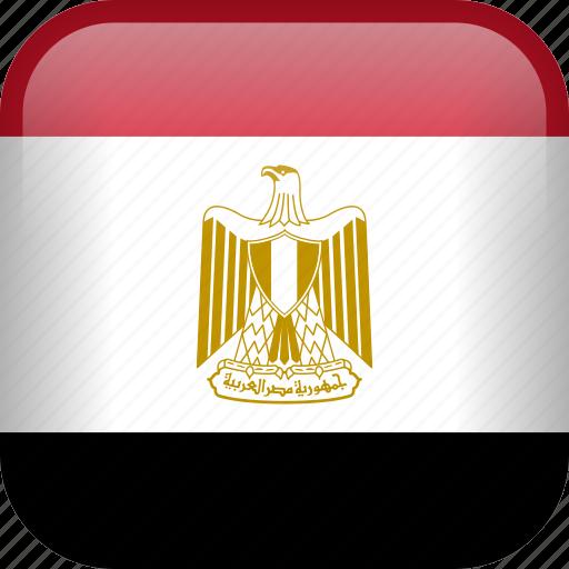 country, egypt, egyptian, flag icon