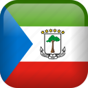 country, equatorial guinea, flag, national icon