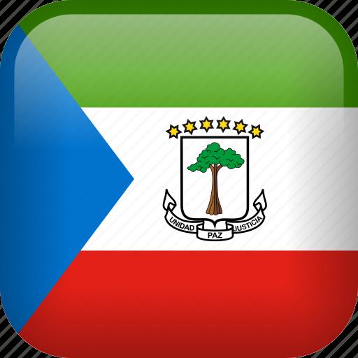 country, equatorial guinea, flag, national icon