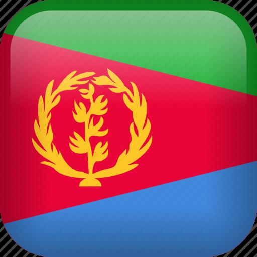 country, eritrea, flag icon