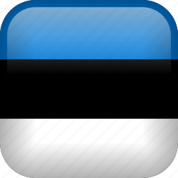 country, estonia, flag icon