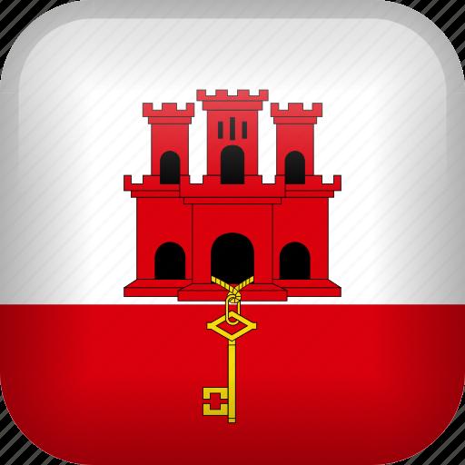 country, flag, gibraltar icon