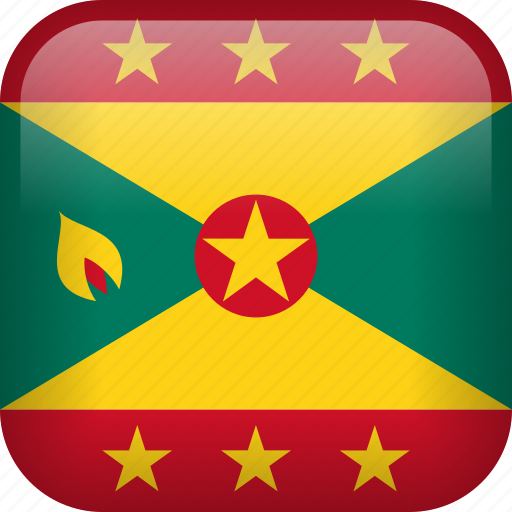 country, flag, grenada icon