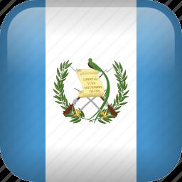 country, flag, guatemala icon