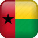 country, flag, guinea-bissau icon
