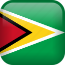 guyana, country, flag icon