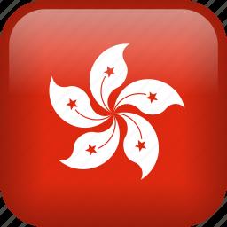 country, flag, hong kong icon