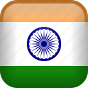 india, country, flag