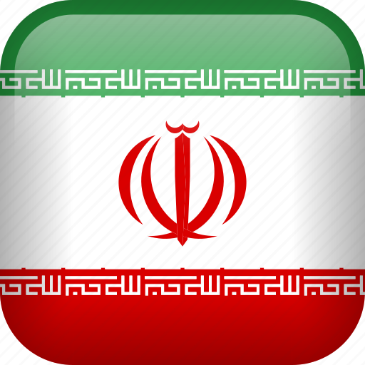 country, flag, iran icon