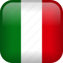 italy, country, flag