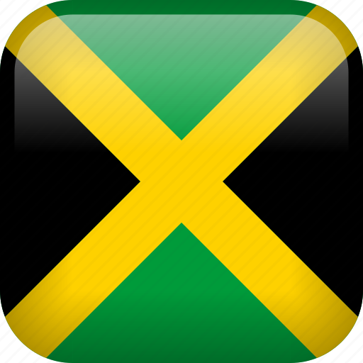 country, flag, jamaica icon