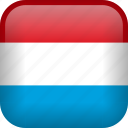 luxembourg, country, flag