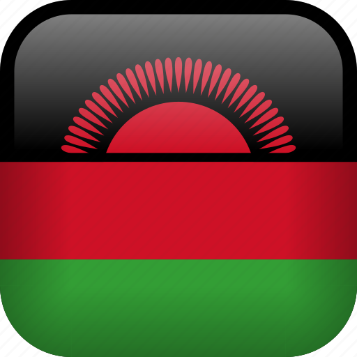 country, flag, malawi icon
