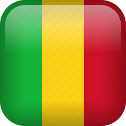 country, flag, mali icon