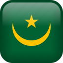 country, flag, mauritania icon