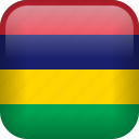 country, flag, mauritius icon