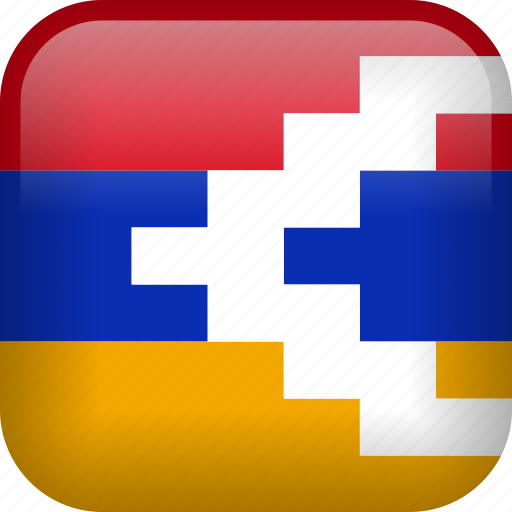 country, flag, nagorno, nagorno-karabakh icon