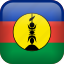 country, flag, new caledonia icon