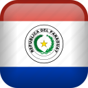 country, flag, paraguay icon