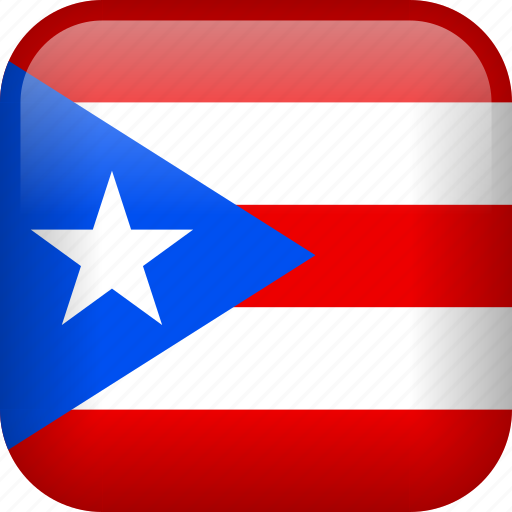 country, flag, puerto rico icon