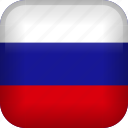 russian, country, flag, russia