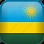 country, flag, rwanda icon