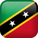 country, flag, saint kitts and nevis