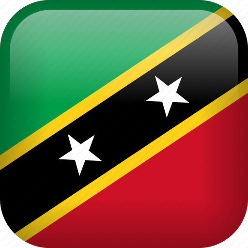 country, flag, saint kitts and nevis icon