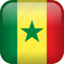 country, flag, senegal icon