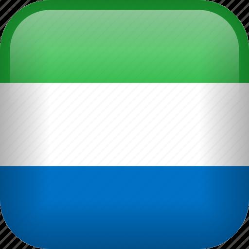 country, flag, sierra leone icon