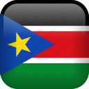country, flag, south sudan icon