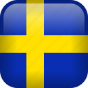 sweden, country, flag